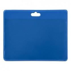 Identificador tarifold pvc horizontal cor azul 103x82