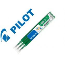 Recarga esferografica pilot frixion ball verde caixa de 3 unidades
