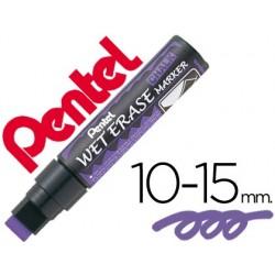 Marcador pentel wet erase 56 violeta