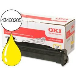 Tambor oki c3300/3400 amarelo -15000 pag- type c9