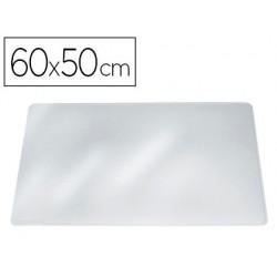 Base de secretaria durable transparente 65x50 cm