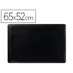Base de secretaria durable preta antideslizante 65x52 cm