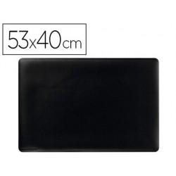 Base de secretaria durable preta antideslizante 53x40 cm