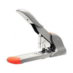 Agrafador rapid fashion hd210 prata/laranja capacidade 210 folhas usa agrafes 9/8-24 e 23/8-24