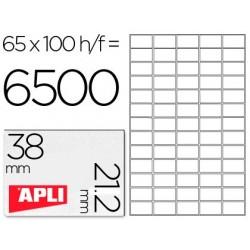 Etiquetas adesivas apli 1283 formato 38x21