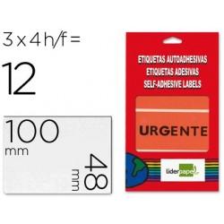 Etiquetas liderpapel urgente envelope de 4 folhas 100x48mm 100x48mm