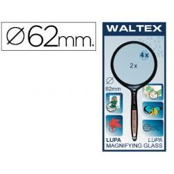 Lupa cristal bifocal waltex de62 mm-blister 1