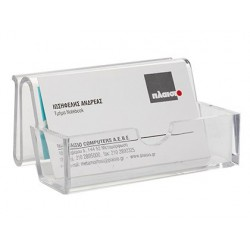 Porta cartoes de visita q-connect metracrilato
