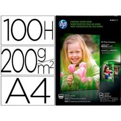 Papel hp photo glossy 200 gr din a4 100 folhas