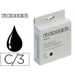 Tinta numerador preto r332n 45 ml para carimbos metalicos