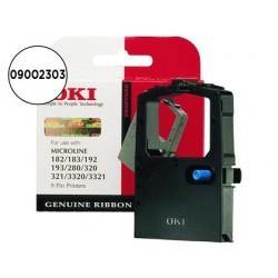 Fita impressora oki ml280/320/321/3320/3321 fita preto (3 milhoes de caracteres)