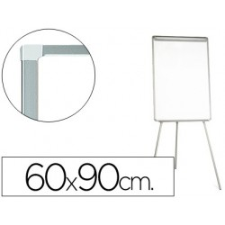 Quadro branco q-connect com tripe 60x90 cm laminado