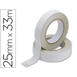 Fita adesiva q-connect dupla face 33 mt x 25 mm