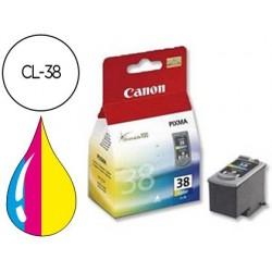 Tinteiro canon cl-38 tricolor