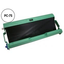 Consumivel fax t104/t106 brother cartucho e bobine