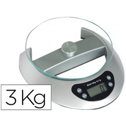 Balanca de escritorio q-connect electronica capacidade 3 kg