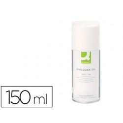 Oleo lubrificante q-connect em spray para destruidora de documentos 150 ml