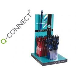 Esferografica q-connect sigma tinta gel- expos. com 48 unidades.