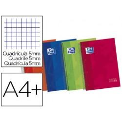 Caderno espiral oxford europeanbook1 din a4 120f pautado 50% folhas gratis