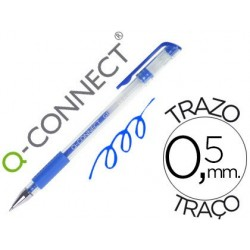 Esferografica q-connect tinta gel azul 0
