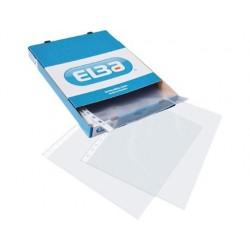 Bolsa catalogo elba standard din a4 70 microns cristal caixa de 100 unidades