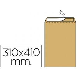 Envelope liderpapel radiografias castanho 310x410mm tira de silicone pack de 250 unidades