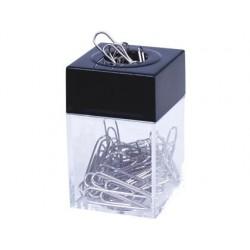 Porta clips q-connect de plastico quadrado