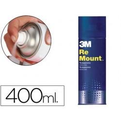 Cola scotch spray remoun 400 ml adesivo reposicionavel indefinidamente