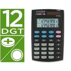 Calculadora citizen de bolso et-220 12 digitos