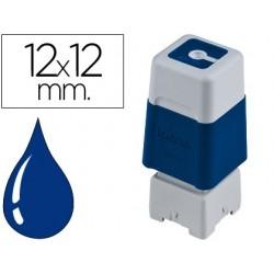 Carimbo automatico brother 12 mm x 12 mm azul