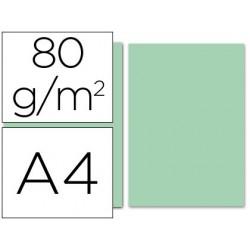Papel de cor liderpapel din a4 80 gr verde resma de 100 folhas
