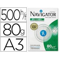 Papel fotocopia navigator din a3 pack 500 folhas 80 gr