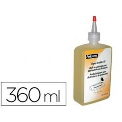 Oleo lubrificante fellowes para destruidoras de documentos 350 ml