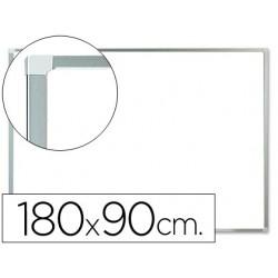 Quadro em melamina q-connect c/caixilho em aluminio 1800 x 900 mm