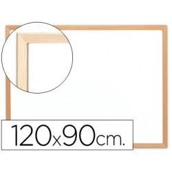 Quadro em melamina q-connect c/ caixilho em madeira 1200 x 900 mm