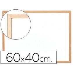 Quadro em melamina q-connect com caixilho em madeira 600 x 400 mm