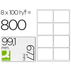 Etiquetas adesivas q-connect din a4 99