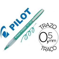 Marcador pilot ponta agulha 2005 verde-tinta liquida