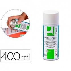 Cola spray adesiva q-connect pack de 400 ml