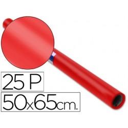 Papel lustro sadipal 50 x 65 cm 65 gr vermelho