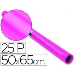 Papel lustro sadipal 50 x 65 cm 65 gr rosa forte