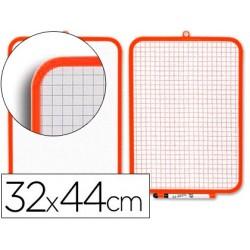 Quadro branco 32x44 cmmarcador e apagador