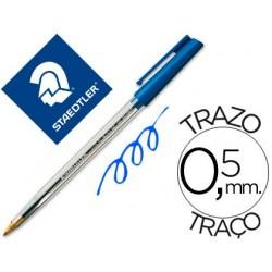 Esferografica staedtler stick azul
