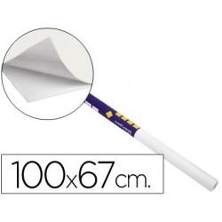 Rolo papel adesivo clipper - quadro branco em rolo 67x100cm