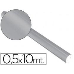 Papel metalizado sadipal 50 cm x 10 mt. 65 grs/m2 prateado