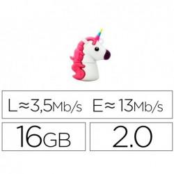 Pen drive tech one tech 16gb usb mi unicornio