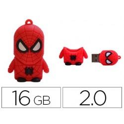 Pen drive techonetech flash drive 16 gb 2.0 super spider