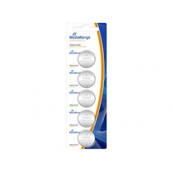 Pilha mediarange tipo botao litio cr2450 3v blister de 5 unidades