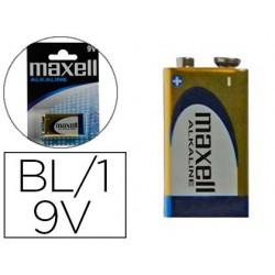Pilha maxell alcalina 9v lr09 blister de 1 unidade