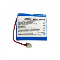 Bateria de litio q-connect recarrgavel kf17282 para detetor de notas falsas kf14930